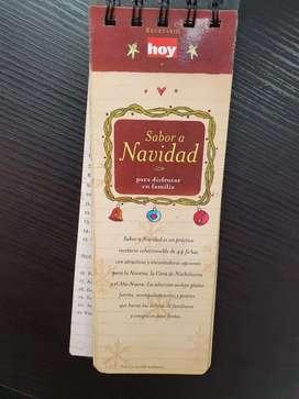Recetario coleccionable sabor a navidad Hoy