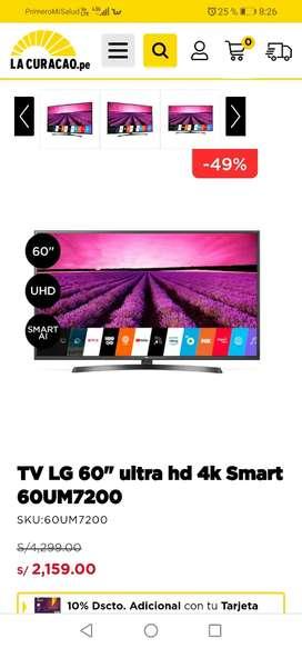 TV SMART  LG  60 PULGADAS