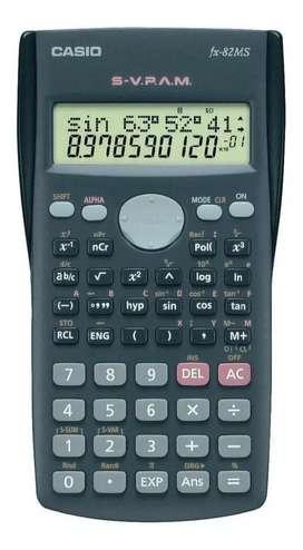 Calculadora científica Casio FX 82 MS.llevo