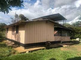 Venta hermosa casa-lote Vda. Curia del Mcpio San Juan de Arama