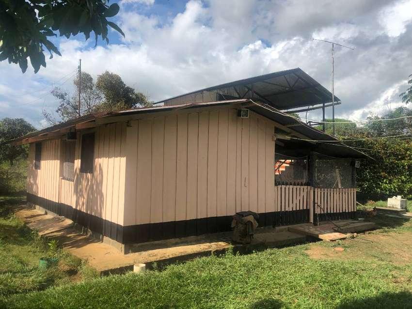 Venta hermosa casa-lote Vda. Curia del Mcpio San Juan de Arama 0