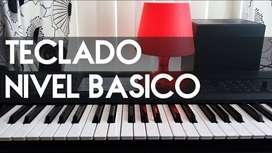 clases de teclado básico e Intermedio