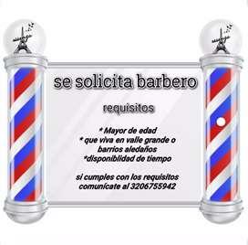 Solicito barbero con experiencia