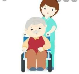 Ofrezco mis servicios para el cuidado del adulto mayor