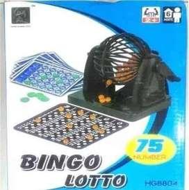 Bingo Lotto Balotera Juego Mesa Familiar Env Inmediato