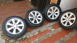 Rines Mercedes Benz C200 Y Llantas