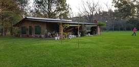 Vendo o Permuto casa quinta en Barrio Cerrado de  2800m2  en Moreno parque pileta y casa quinta de 280m2 ap.