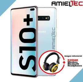 SAMSUNG S10 PLUS - DUOS  KODAK WIRELESS HEADPHONES