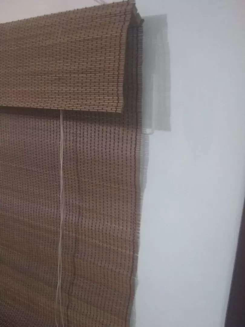 PERSIANAS VERTICALES RETRACTILES,  EN JUNCO NATURAL 120 x 200