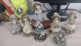 Combo porcelanas antiguas hermosas