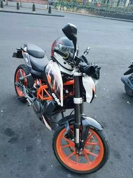 Venta de moto KTM 390