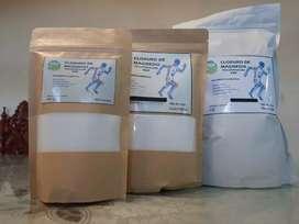 Cloruro magnesio hexahidratado USP europeo | 250 gr