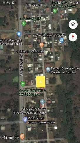"""Se vende terreno en la ciudadela el paraiso de 10×20 esquinero con 18 columnas de varilla de 14"""""""