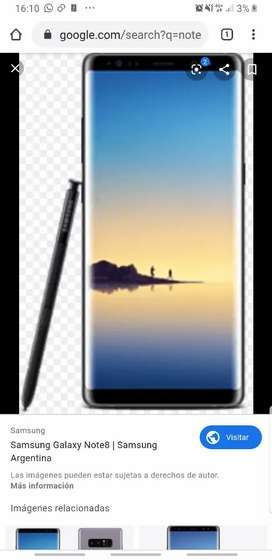 Vendo Samsung note 8