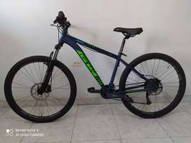 Bicicleta Todoterreno GW zebra Rin 27.5 talla M