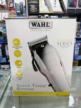 Máquina Peluquera Wahl Super Taper Chrome