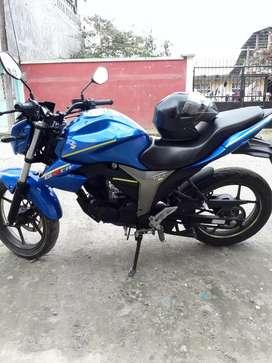 La moto esta tal como se el las foto
