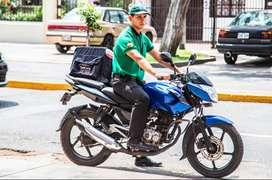 Necesito Delivery motorizado para recojo y entrega motorizado