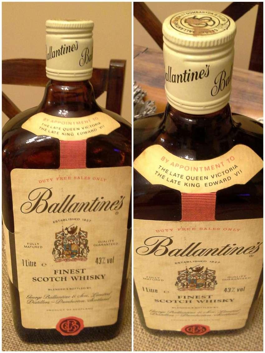 Whisky Ballantine's Finest Scotch 1lt.1980 0
