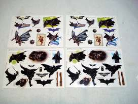 planchas de Sticker Batman ( x4u)