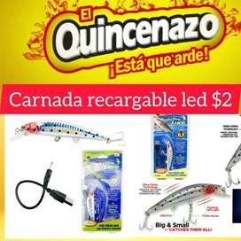 CARNADA RECARGABLE LED