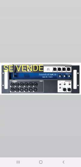 soundcraft ul16 consola digital