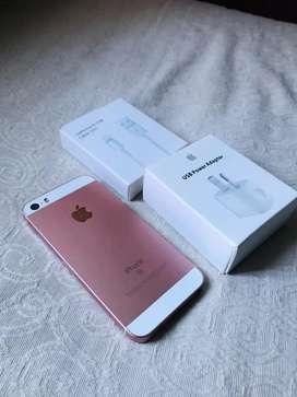 iPhone SE 32GB libre para cualquier empresa y de iCloud sin huella Solo efectivo