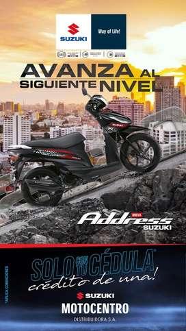 Suzuki Address 115 mod 2020