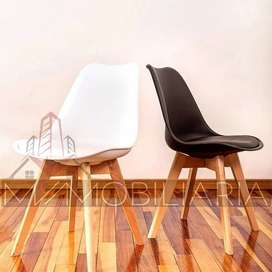 Silla Eames Ideal Para Espera Manciure Spa Blanca
