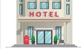 Hotel necesita 3 personas para limpieza cocina, administración, atención al público
