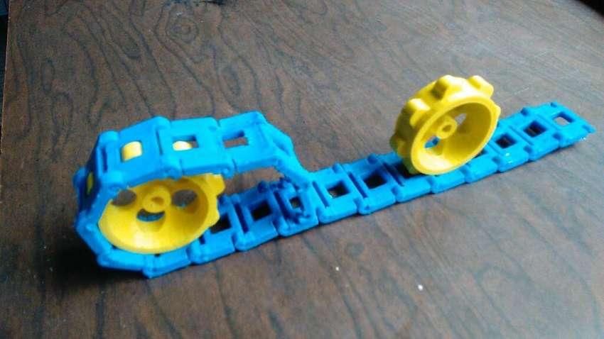 Llanta para Robot o Carro con Oruga