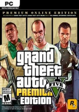 Grand Theft Auto V GTA 5 - Premium Online Edition Rockstar Social Club (key)
