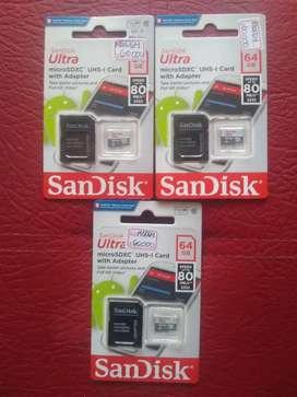 MicroSD de 64GB Clase 10 SanDisk