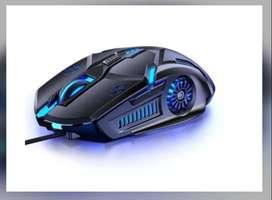 Mouse Ergonomico Alambrico Gamer Usb 6 Botones