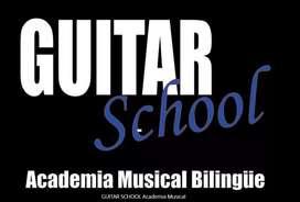 GUITAR SCHOOL, Academia Musical Bilingüe