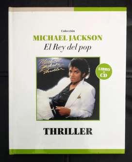 THRILLER: Libro + CD - Michael Jackson, Colección