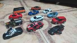 Carros de colección  escala 1/24 1/46 ; alfa romeo; jaguar; lamborgini; range rover; chevi; ford, volvo,porche, gumper.