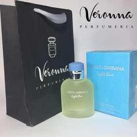 Perfume Dolce Gabbana Light Blue Hombre 125 Ml Veronna