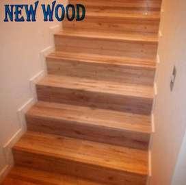 Escaleras artesanales hechas a mano