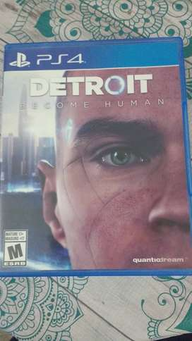 Detroit become human juego ps4 gisico