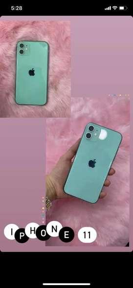 Iphone 11 128gb con cargador original y 10 fundas silicon