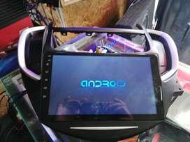 Pantalla android 9 pulgadas, chevrolet tracker
