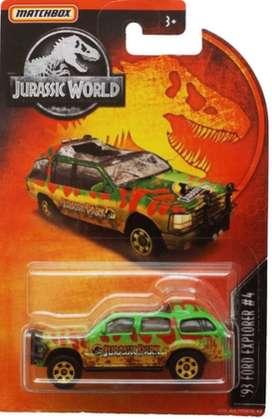 Matchbox Jurassic World 93 Ford Explorer # 4