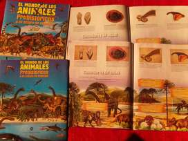 EL MUNDO DE LAS ANIMALES PREHISTÓRICOS de Chocolatinas Jet