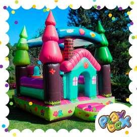 Inflable Casa Castillo Saltarin