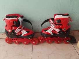 Vendo patines con un solo uso