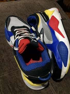 Zapatillas puma transforme  originales