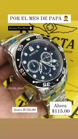 Reloj Original Invicta Nuevo Pro Diver Precio Promoción día del Padre
