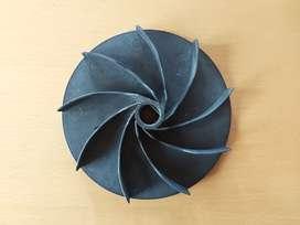 Repuesto Turbina Lustradora Aspiradora Bordeadora 16 Cm