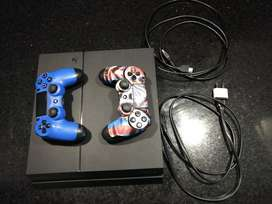 Ps4 500gb 2 Joysticks 5 Juegos